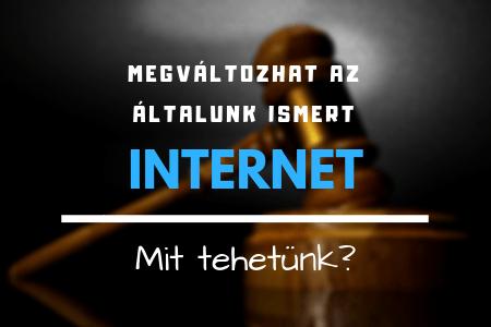 Megváltozhat az általunk ismert internet?