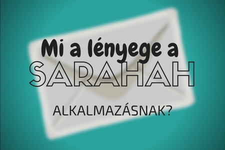 Mi az a Sarahah?