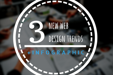 How to upgrade your website - 3 new web design trends
